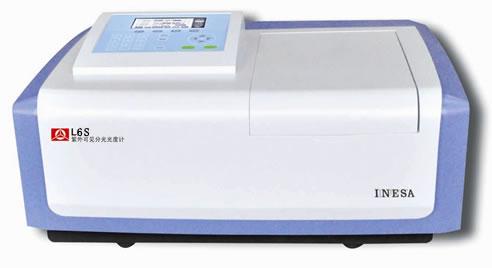 L6S紫外可见分光光度计