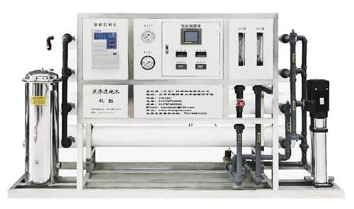 工业超纯水设备 工业纯水机 系统方案