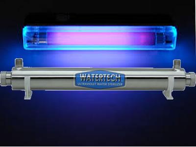 实验室超纯水机紫外杀菌器图片